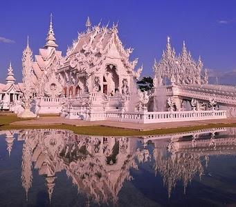 The White Temple' Wat Rong Khun, Chiang Rai, Thailand