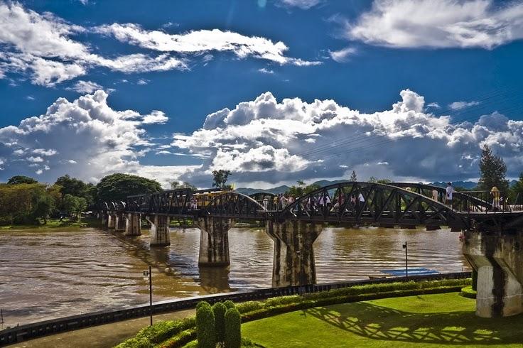 River kwai bridge - kanchanaburi