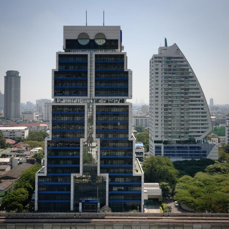 The Robot Building, Sumet Jumsai Na Ayudhaya  Bangkok  Thailand